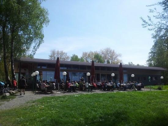 Seerestaurant Glashaus: Ansicht von der Seeseite