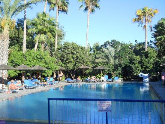 Veronica Hotel: ogród z basenem