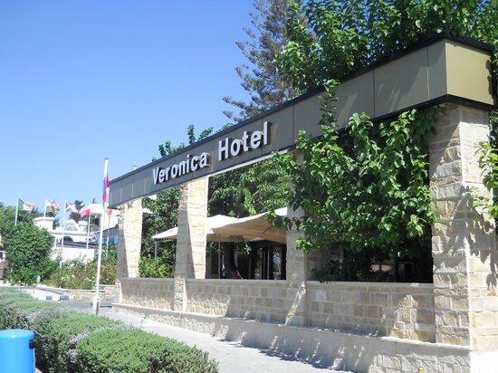 Veronica Hotel: widok hotelu od ulicy