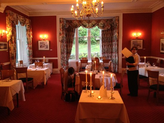 Craigellachie Hotel: Lovely dining room