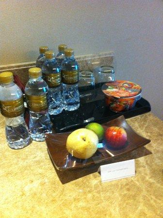 The Grand Fourwings Convention Hotel: thé et café dans la chambre