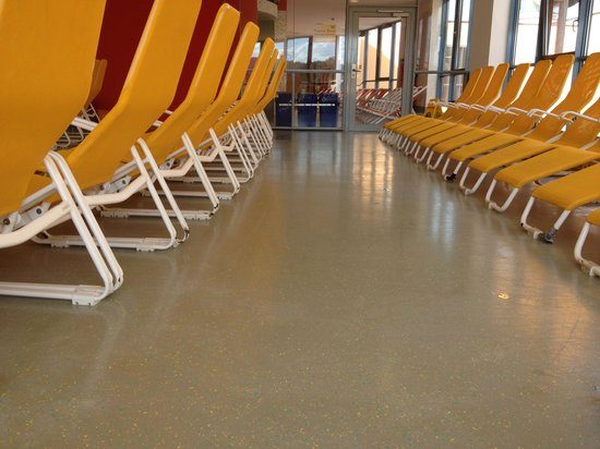 H2O Hotel-Therme: Liegebereich