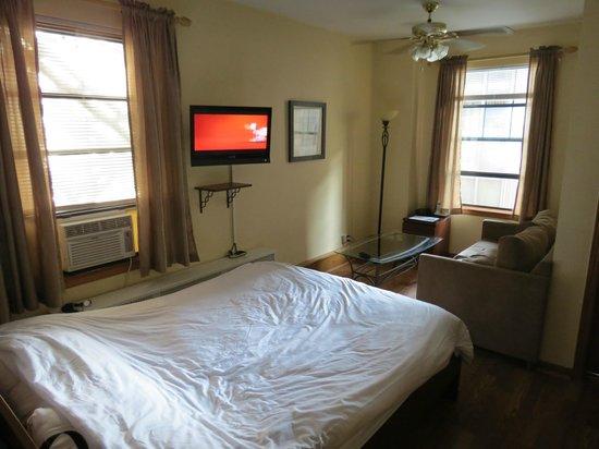 Dewitt Hotel & Suites: La chambre