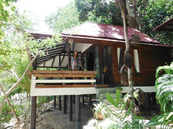 Ocean View Beach Resort: The tropical beach bungalow