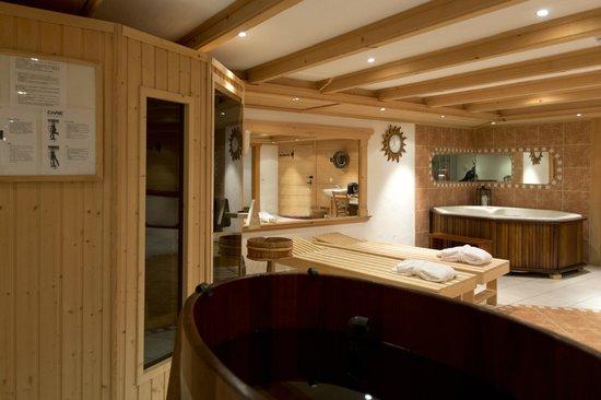 Hotel Alpenrose: spabereich