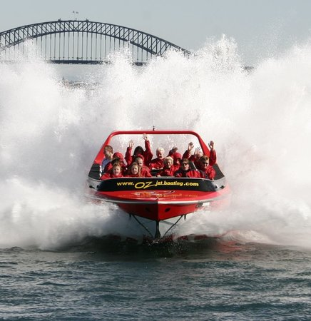 Oz Jetboating Sydney Harbour