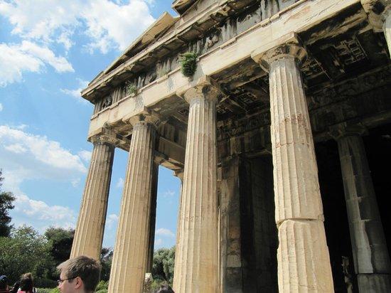 Templo de hefesto foto di tempio di efesto atene for Tempio di santiago