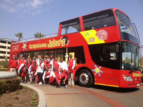Johannesburg Attraction City Sightseeing Joburg bus