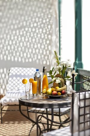Riad Farnatchi: Private balcony