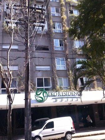 Eko Residence Hotel: Fachada