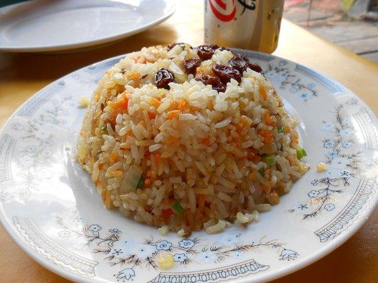 Taj Mahal Restaurant: Saffron Rice
