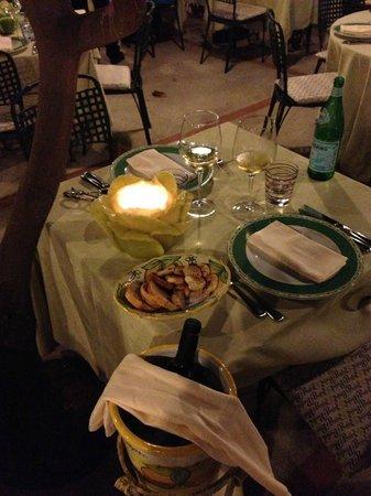 Da Paolino Lemon Trees : il tavolo
