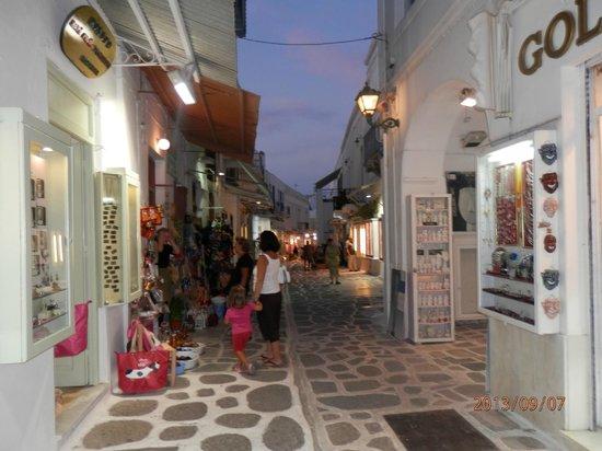 Hotel Aegean Village: parikia
