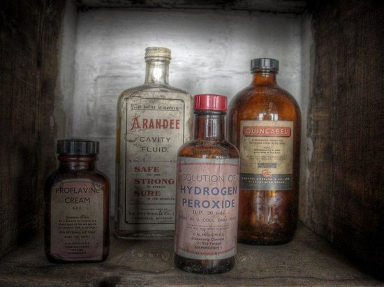 Coffin Works: Interesting bottles found in the building