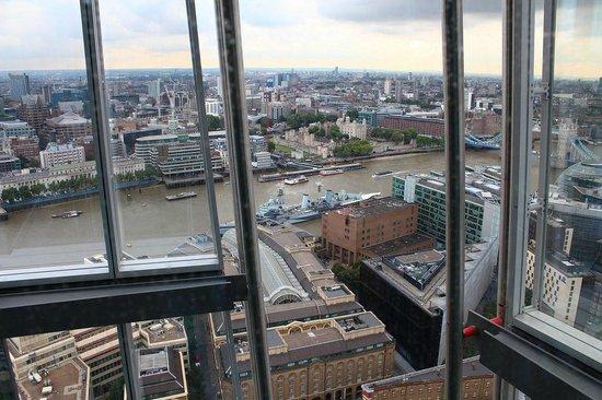 View From The 31st Floor Picture Of Aqua Shard London Tripadvisor