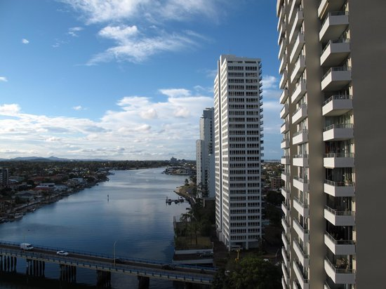 Vibe Hotel Gold Coast: View from the balcony