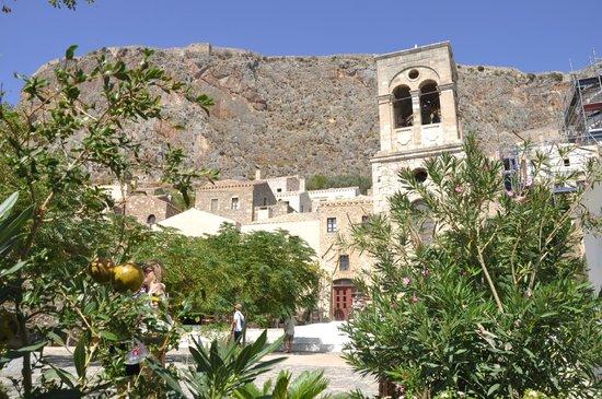 Upper Town of Monemvasia: parte di città vecchia