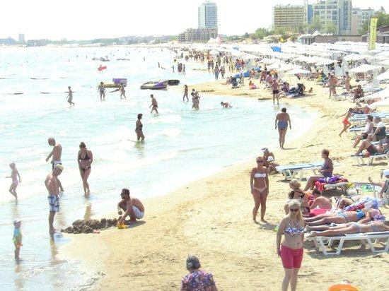 Park-Hotel Continental: beach