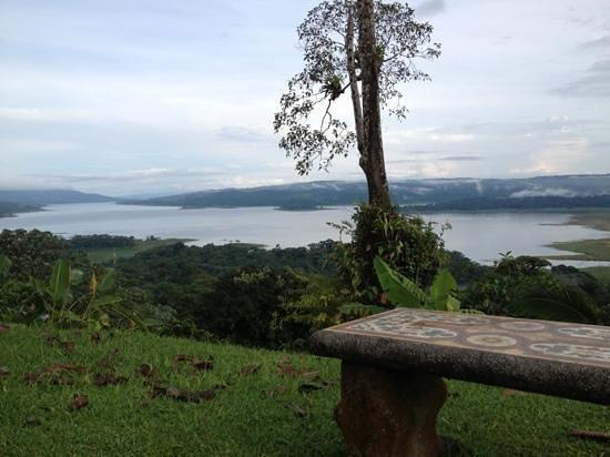 Arenal Tropical Garden: Vista a la Laguna !!! exc. !!!
