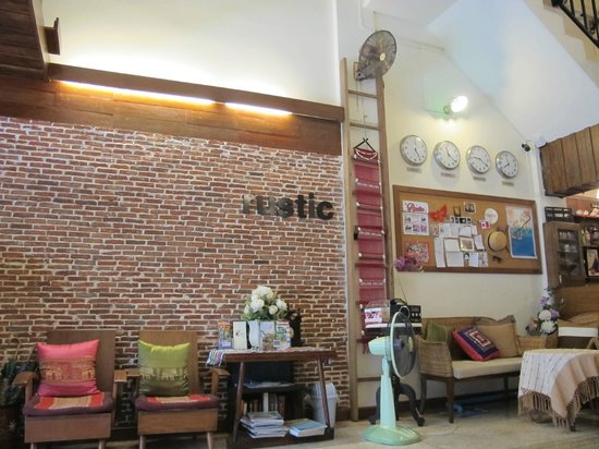 Rustic Guesthouse : lobby