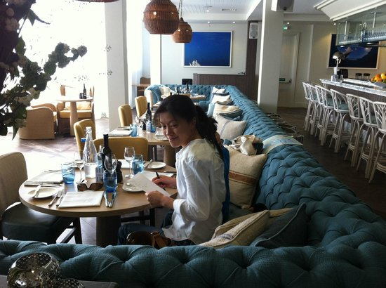The Jetty Salcombe: Restaurant.