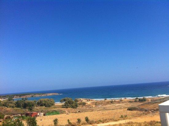 Hotel Kedrissos: Sea view from hotel