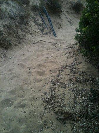 Club Valtur Lacona: viottolo che porta alla spiaggia