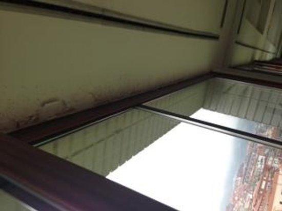 Hotel Ercilla : detalle del techo gimnasio Ercilla