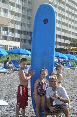 Charleston Surf Lessons: Josh did a great job!