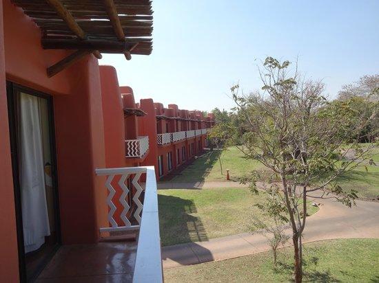 AVANI Victoria Falls Resort: View from balcony