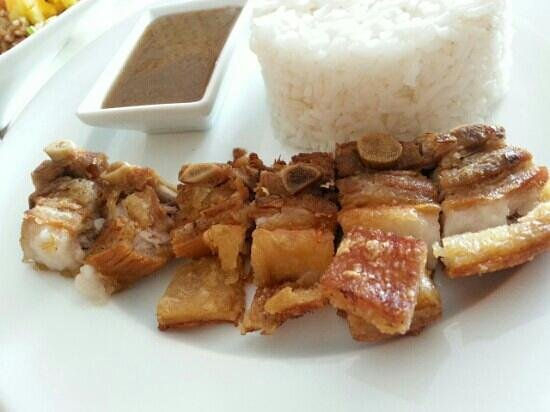 Heavenly Desserts by Dorothy: crispy liempo