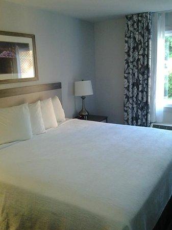 Comfort Inn Williamsburg Gateway: Bed
