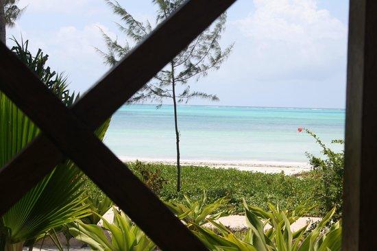 Domokuchu Beach Bungalows: balcony