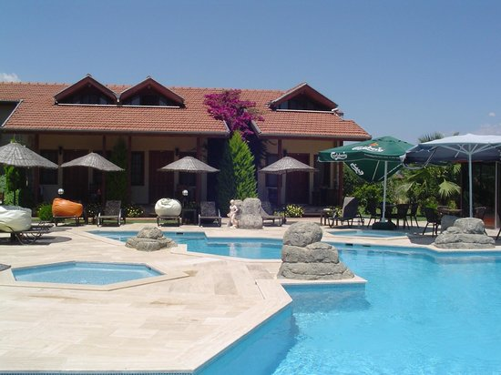 Hotel Grenadine Lodge: Pool and poolside rooms