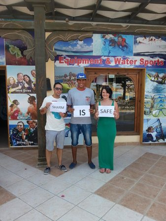 Sea Club Resort - Sharm el Sheikh: Sharm is Safe :)