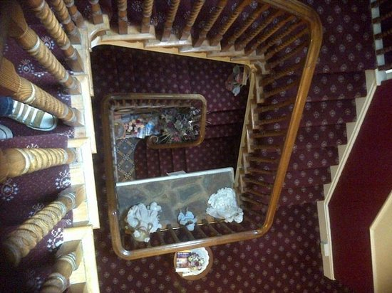 Strathmore Guest House: Impressive Staircase