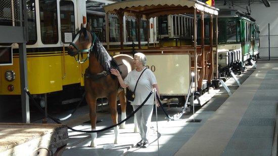 Strassenbahnwelt Stuttgart: Original Horse drawn Tram