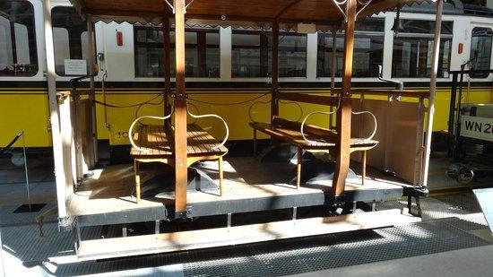 Strassenbahnwelt Stuttgart: Comfortable Seats