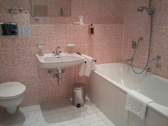 Hotel Terra-Nova : vue de la salle de bains