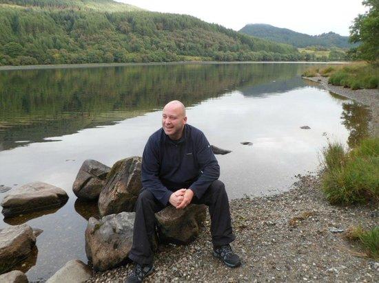 Forest Holidays Strathyre, Scotland: resting on Loch Lubnaig