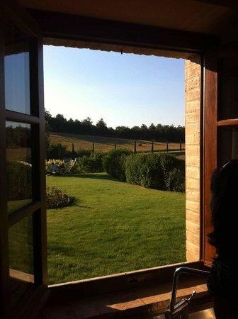 Agriturismo La Bruciata: View from the kitchen window