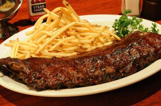 JB Dawson's Restaurant & Bar : BABY BACK RIBS