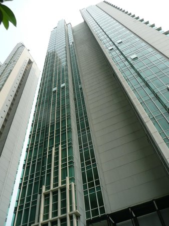 Fraser Residence Sudirman Jakarta: Complex of tall buildings called The Peak where Fraser is one tower