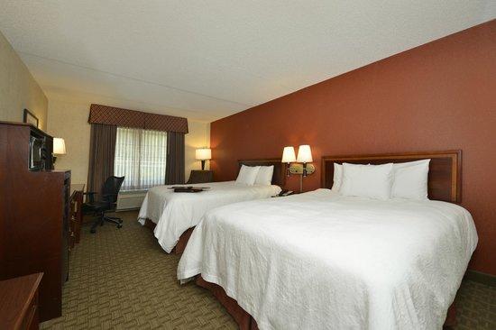 Hampton Inn East Aurora: Double Guest Room
