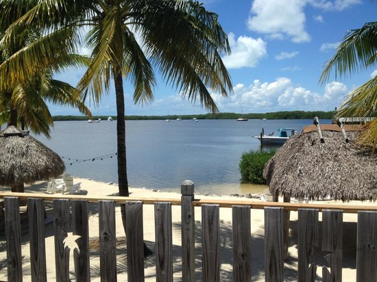 Coconut Palm Inn: View from room 15