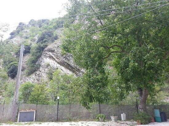 Osteria del Bottaccione: la location esterna