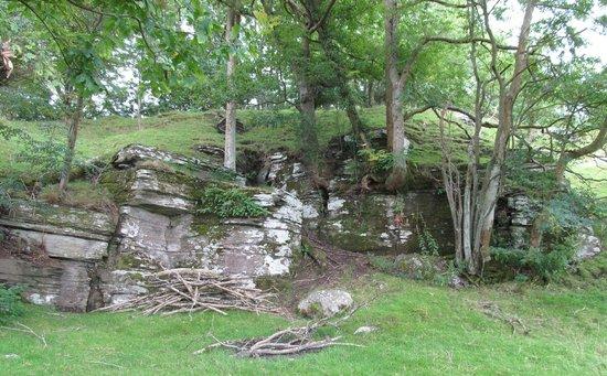 Seven Stars Inn: Aberedw Castle (Mound!)