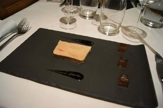 Au Soleil : Foie gras maison