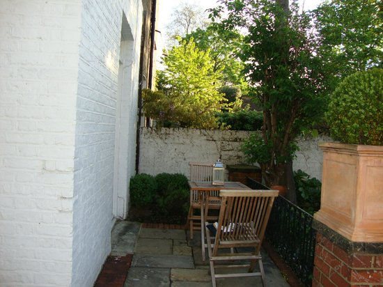 Lime Tree Hotel : This is the courtyard