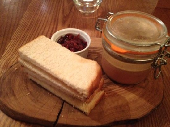 The Bull and Willow Room at Great Totham: Parfait starter
